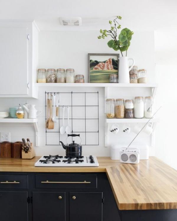 Những ý tưởng dùng kệ để tạo góc lưu trữ cực đẹp và hữu ích cho nhà nhỏ - Ảnh 5.