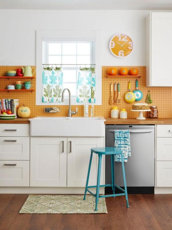 Những ý tưởng dùng kệ để tạo góc lưu trữ cực đẹp và hữu ích cho nhà nhỏ - Ảnh 8.