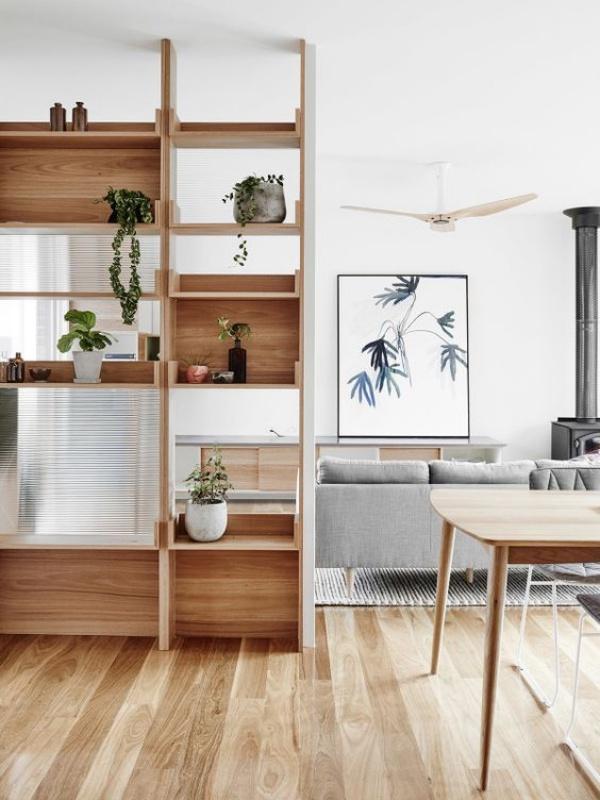 Những ý tưởng dùng kệ để tạo góc lưu trữ cực đẹp và hữu ích cho nhà nhỏ - Ảnh 13.