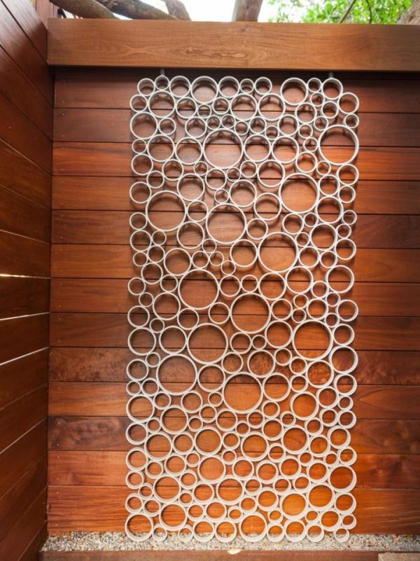 Gợi ý những cách sáng tạo cho không gian đẹp bất ngờ khi tận dụng ống nhựa PVC - Ảnh 3.