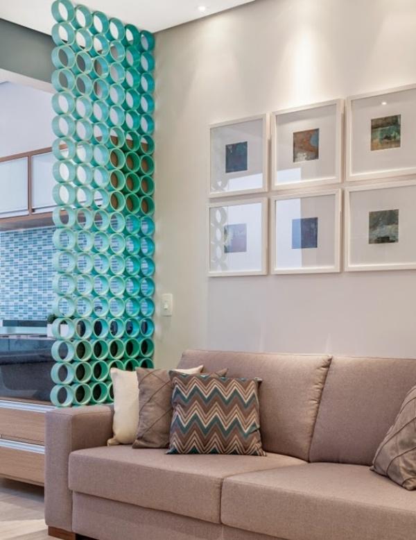 Gợi ý những cách sáng tạo cho không gian đẹp bất ngờ khi tận dụng ống nhựa PVC - Ảnh 6.