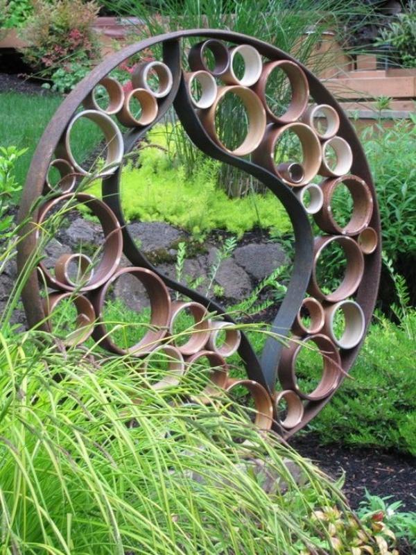 Gợi ý những cách sáng tạo cho không gian đẹp bất ngờ khi tận dụng ống nhựa PVC - Ảnh 8.