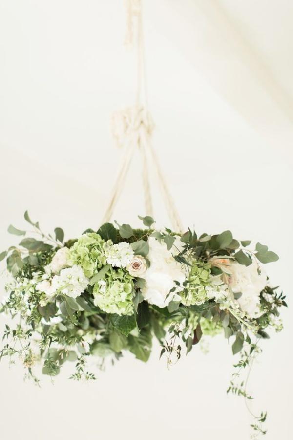 Đèn chùm bằng hoa tươi rực rỡ sắc màu làm duyên cho ngôi nhà của bạn - Ảnh 5.