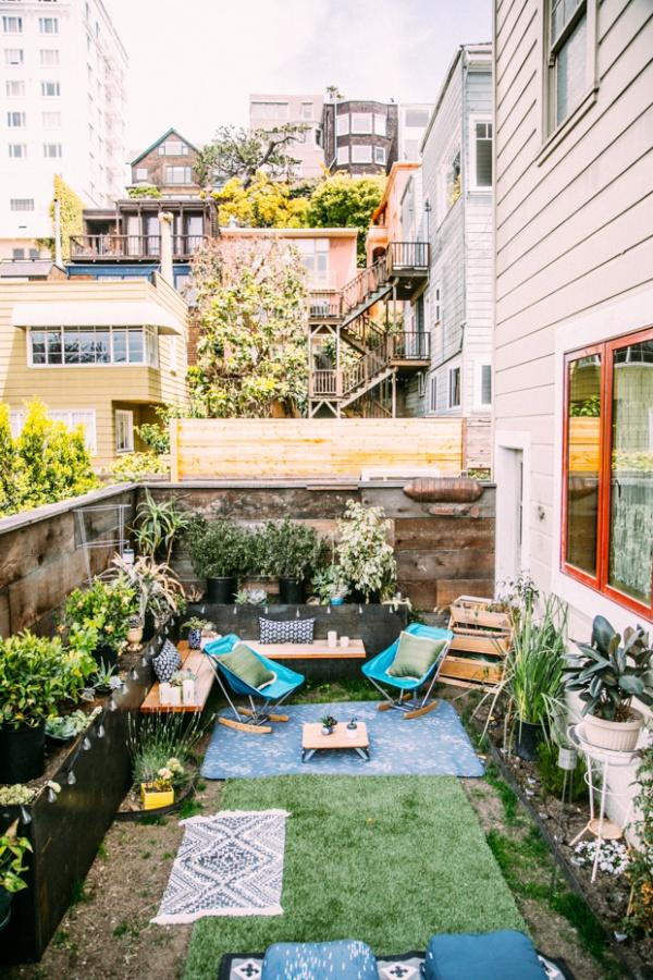 Phòng khách ngoài trời, ý tưởng tuyệt vời tận hưởng hương vị mùa hè - Ảnh 7.