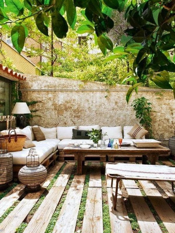 Phòng khách ngoài trời, ý tưởng tuyệt vời tận hưởng hương vị mùa hè - Ảnh 8.