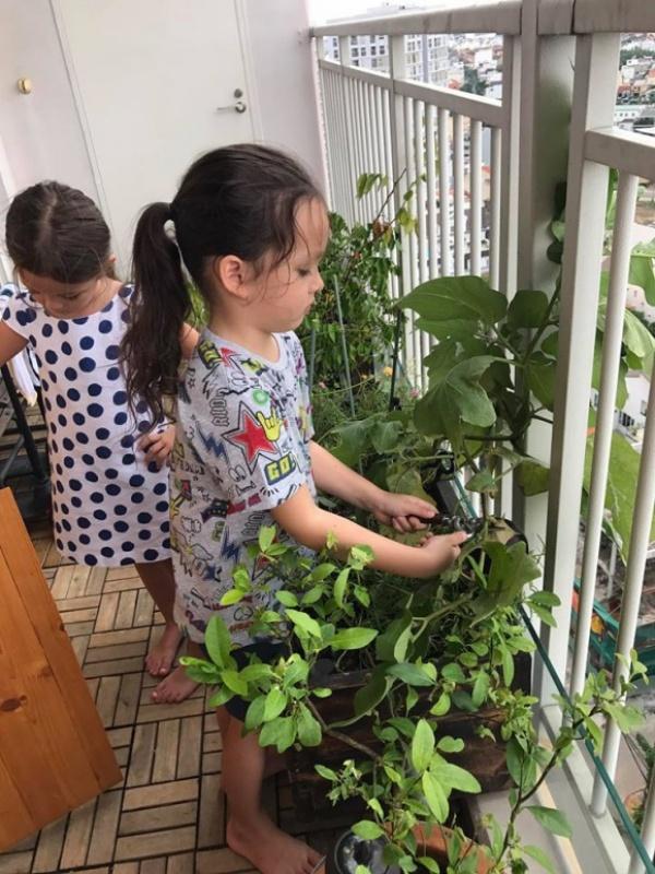 Căn hộ với hệ thống trồng rau sạch thông minh ở ban công của Diva Hồng Nhung giữa lòng Sài Gòn - Ảnh 5.