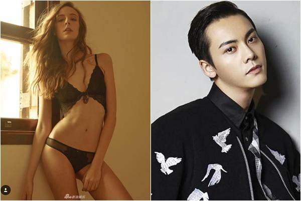 Trần Vỹ Đình đưa bạn gái siêu mẫu đi ăn cùng gia đình, hé lộ tin sắp kết hôn - Ảnh 1.