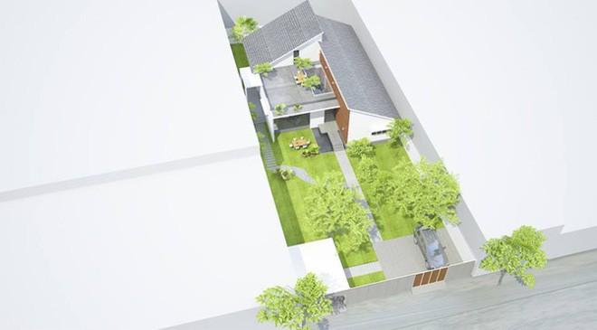 Ngôi nhà 1 tầng ở miền Tây khiến vạn người trầm trồ vì vừa đẹp, vừa tiện nghi - Ảnh 2.