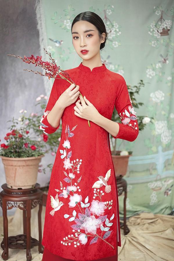 Đỗ Mỹ Linh gợi ý chọn áo dài cách tân mặc tết - Ảnh 1.