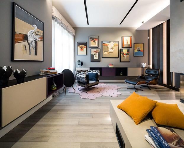 Ấn tượng với căn hộ kết hợp màu sắc trắng đen - Ảnh 2.