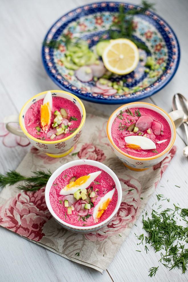 Món súp lạnh độc đáo ở Ba Lan không ngờ được làm từ loại củ phổ biến của Việt Nam - Ảnh 12.