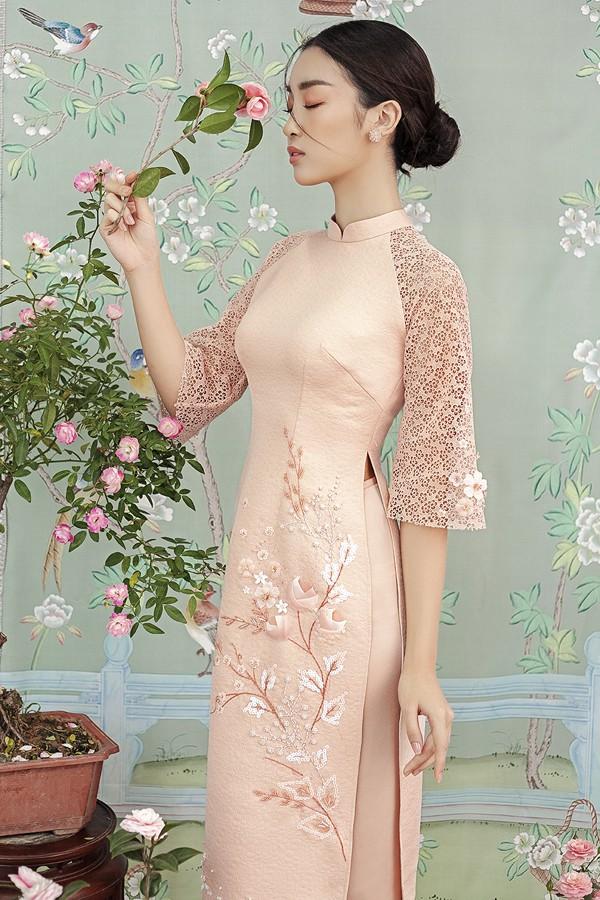 Đỗ Mỹ Linh gợi ý chọn áo dài cách tân mặc tết - Ảnh 7.