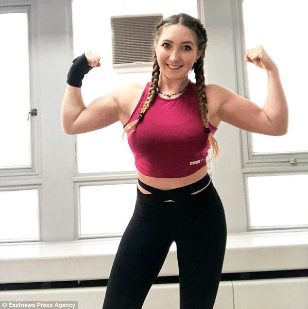 Cô gái trẻ trở thành blogger thể hình nhờ thay đổi chế độ ăn uống và cách tập luyện - Ảnh 7.