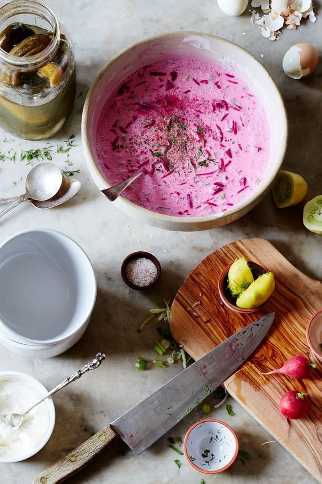Món súp lạnh độc đáo ở Ba Lan không ngờ được làm từ loại củ phổ biến của Việt Nam - Ảnh 8.