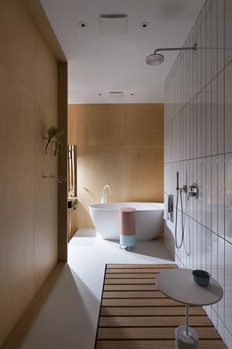 Căn hộ một phòng ngủ có thiết kế hiện đại, độc đáo - Ảnh 9.