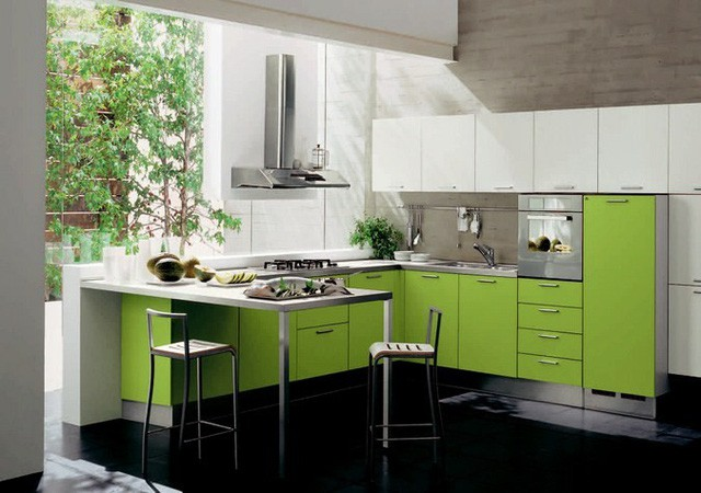 Những tủ bếp đơn giản nhưng khiến không gian bếp đẹp và sang đến không ngờ - Ảnh 11.