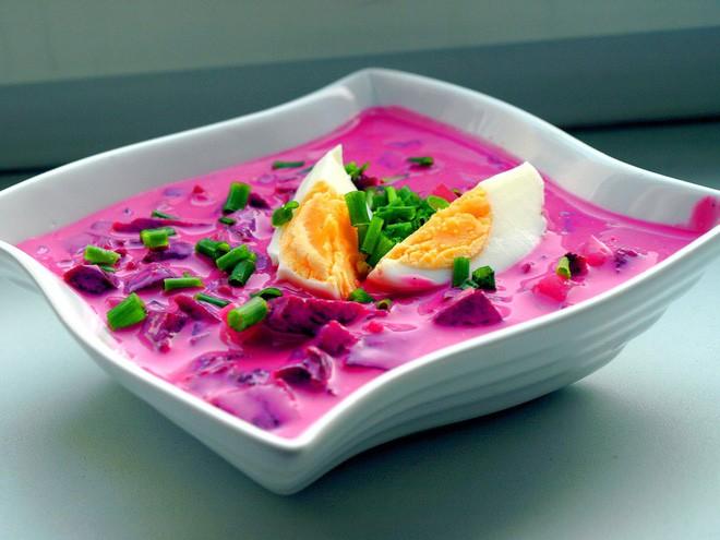 Món súp lạnh độc đáo ở Ba Lan không ngờ được làm từ loại củ phổ biến của Việt Nam - Ảnh 10.