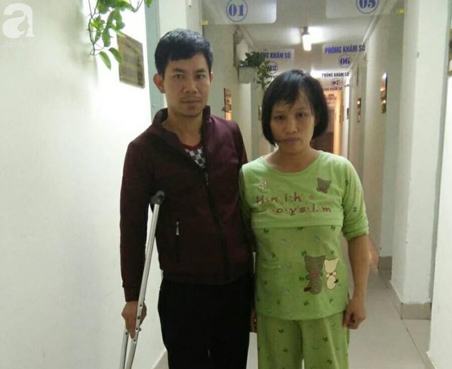 Người cha tật nguyền và con trai hơn 1 tháng mắc bệnh tim bẩm sinh cầu cứu - Ảnh 1.