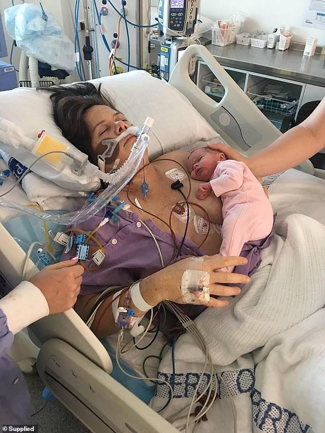 Sinh con xong tim bị ngừng đập bốn phút, người mẹ lên tiếng cảnh báo hội chứng cực nguy hiểm ở phụ nữ mang thai - Ảnh 1.