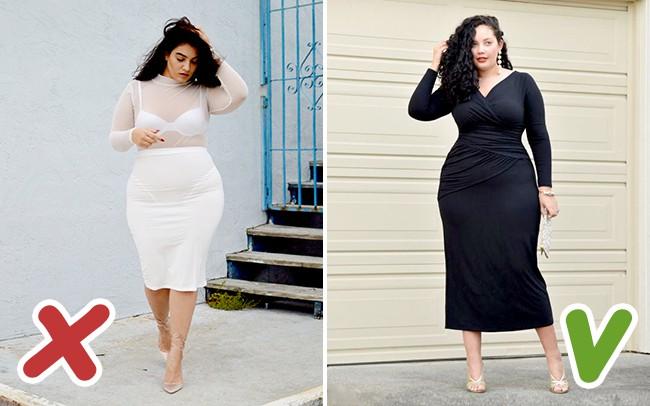 6 lỗi ăn mặc mà hội chị em thừa cân cần tránh trong mùa đông kẻo bị dìm dáng không thương tiếc - Ảnh 1.