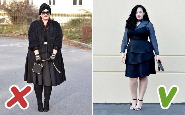 6 lỗi ăn mặc mà hội chị em thừa cân cần tránh trong mùa đông kẻo bị dìm dáng không thương tiếc - Ảnh 2.
