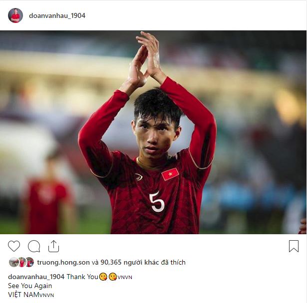 Các cầu thủ Việt Nam chia sẻ gì trên MXH sau màn đối đầu nghẹt thở với Nhật Bản? - Ảnh 4.