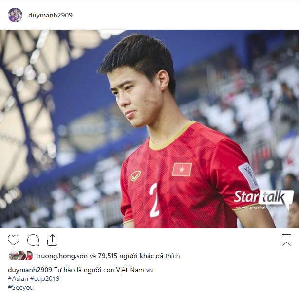 Các cầu thủ Việt Nam chia sẻ gì trên MXH sau màn đối đầu nghẹt thở với Nhật Bản? - Ảnh 5.