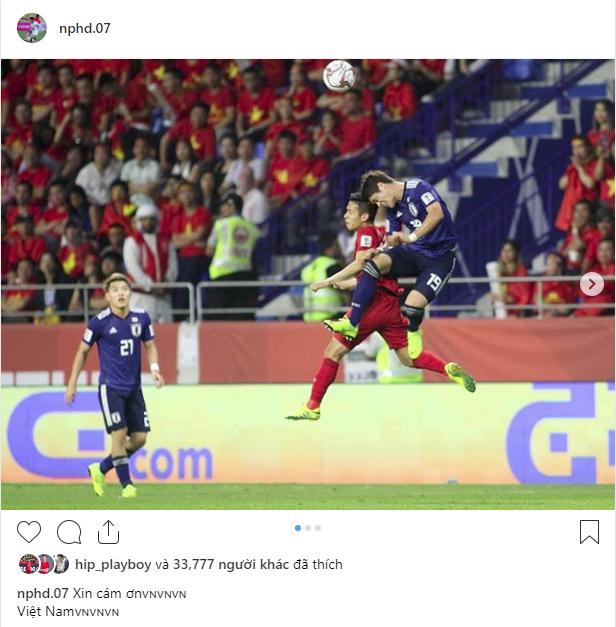 Các cầu thủ Việt Nam chia sẻ gì trên MXH sau màn đối đầu nghẹt thở với Nhật Bản? - Ảnh 6.