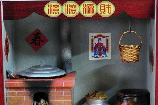 Sự khác biệt trong phong tục thờ cúng Táo Quân của Trung Quốc và Việt Nam: Đốt ngựa giấy, mâm cơm cúng đầy đồ ngọt - Ảnh 6.