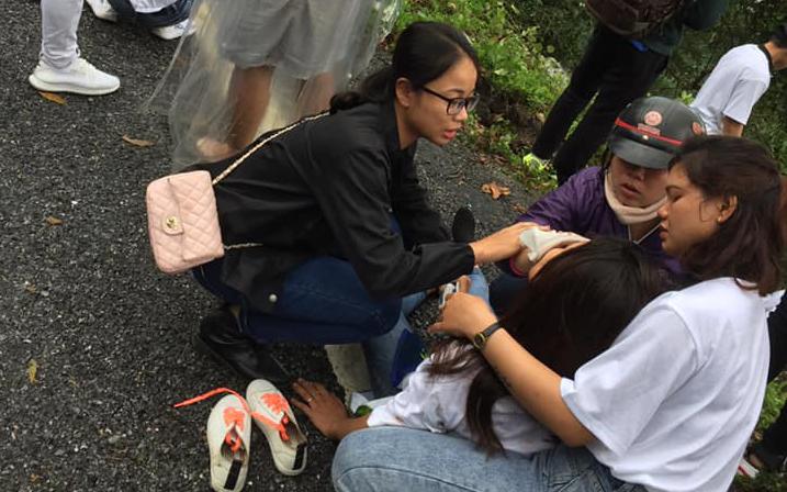 Hiệu trưởng trường Cao đẳng có 22 sinh viên rớt xuống đèo Hải Vân: