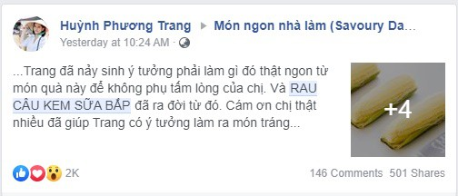 """Hot mom Việt ở Canada chia sẻ công thức món thạch rau câu khiến các mẹ """"xốn xang"""" cả ngày - Ảnh 1."""
