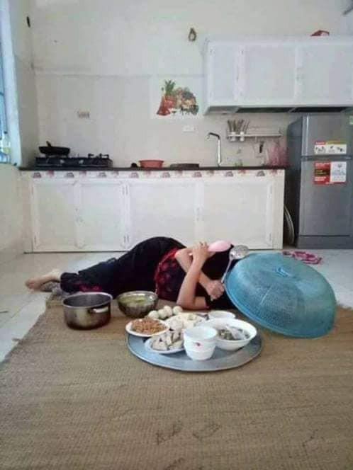 Chê vợ ở nhà chăm con nhỏ ''lười chảy thây'' ông chồng bị mẹ bỉm sữa dạy cho một bài học khiến cả nghìn chị em phụ nữ hả hê. - Ảnh 2.