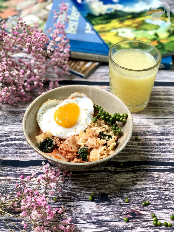 Món cơm Bibimbap nổi tiếng Hàn Quốc hóa ra có thể nấu cực dễ dàng chỉ với 1 chiếc nồi cơm điện - Ảnh 6.