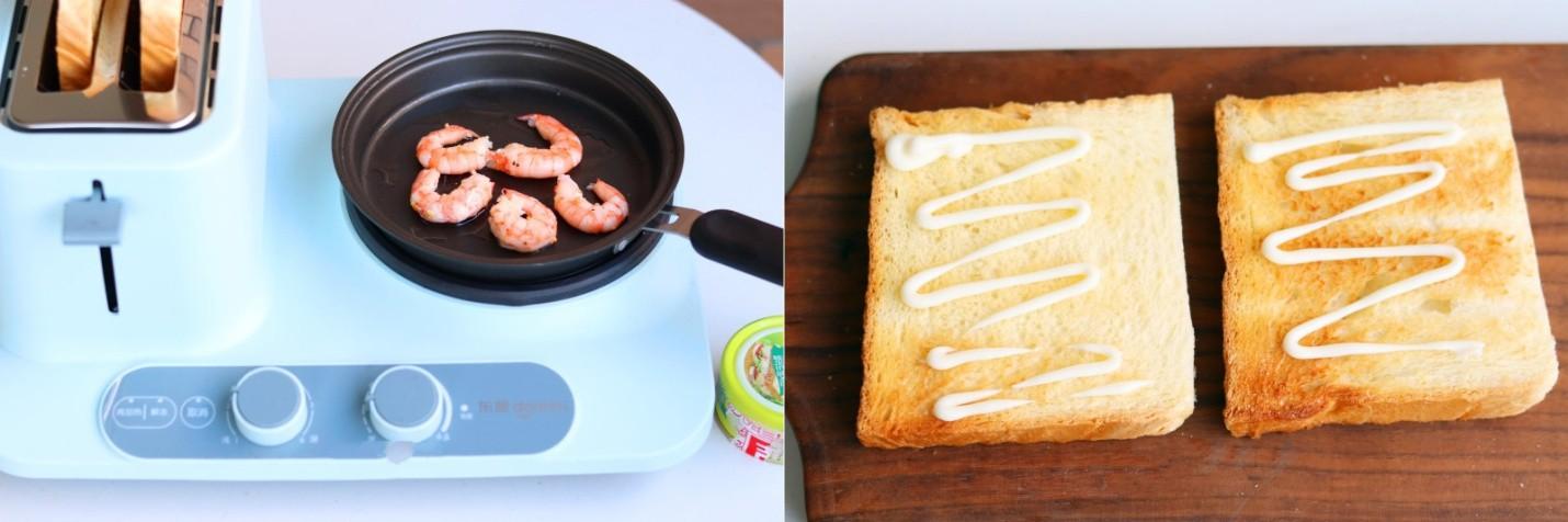 3 bước đơn giản làm bánh mì kẹp 2 kiểu, ăn sáng hay trưa đều ngon tuyệt! - Ảnh 3.