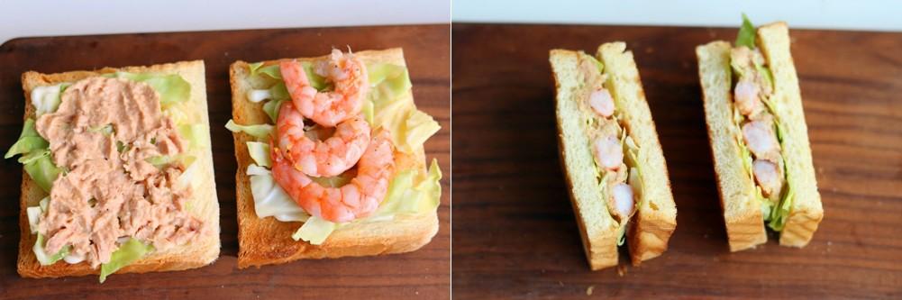 3 bước đơn giản làm bánh mì kẹp 2 kiểu, ăn sáng hay trưa đều ngon tuyệt! - Ảnh 4.