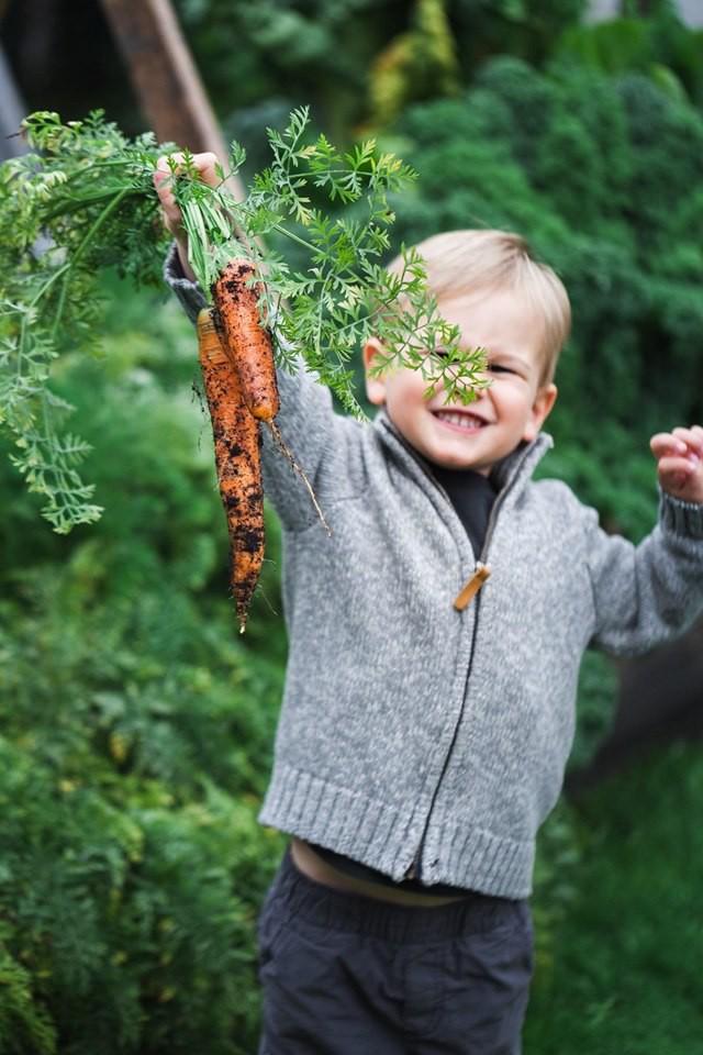 Mẹ trẻ xinh đẹp thích sưu tầm hạt giống và phủ xanh mảnh đất quanh nhà bằng đủ loại rau trái - Ảnh 2.