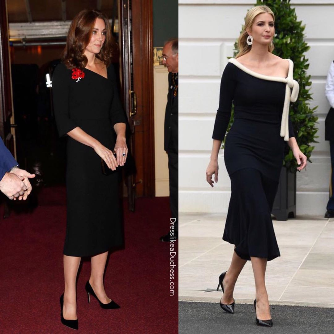 """""""Đánh bại"""" Meghan Markle nhưng con gái tổng thống Trump vẫn """"thua đẹp"""" trước công nương Kate khi cùng diện đồ hao hao - Ảnh 4."""