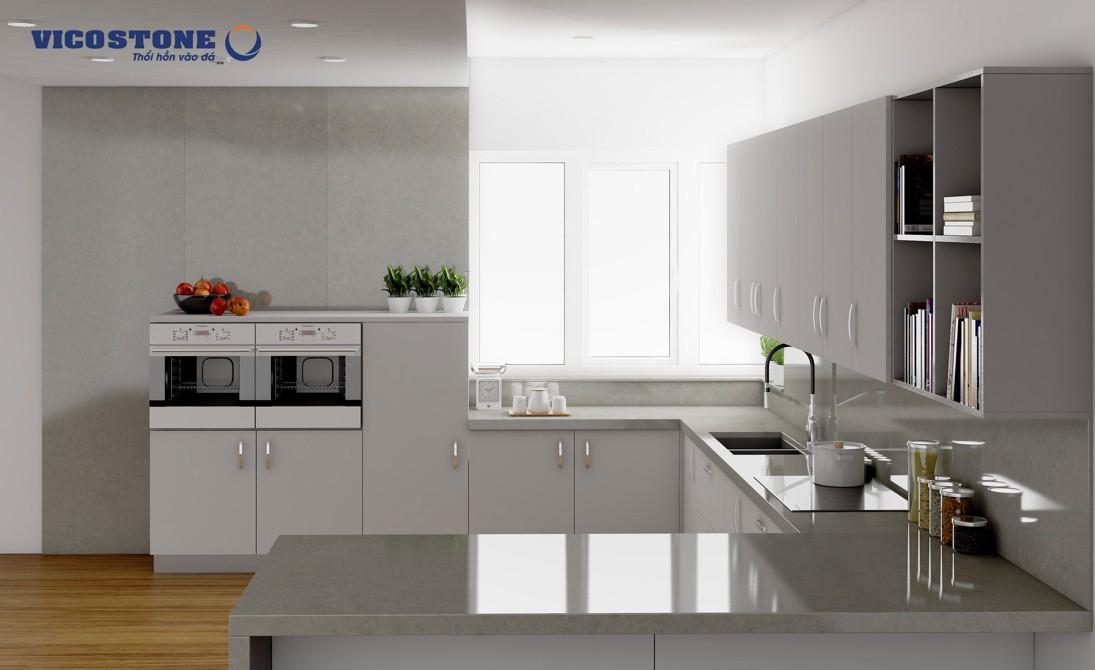 Gợi ý căn bếp đẹp ấm cúng cho vợ chồng trẻ mới cưới - Ảnh 1.