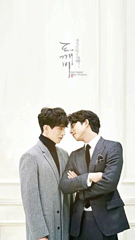 """Đi dự đám cưới bạn thân, cặp đôi """"Yêu tinh - Thần chết"""" Gong Yoo và Lee Dong Wook bắn tim đáng yêu, chiếm trọn """"spotlight"""" của cô dâu chú rể - Ảnh 4."""