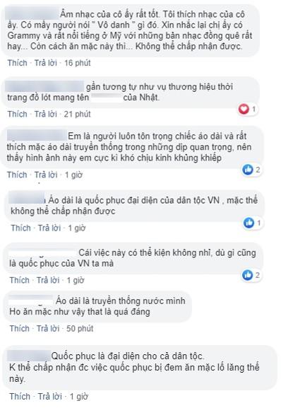 Ngô Thanh Vân bức xúc trước việc nữ ca sĩ Kacey Musgraves mặc áo dài Việt Nam nhưng quên mặc quần lại còn khoe mẽ  - Ảnh 7.