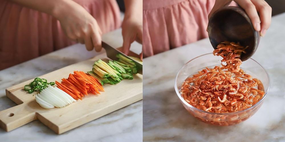 Học người Hàn cách làm bánh tôm dễ như ăn kẹo mà ngon lạ thử một lần là mê - Ảnh 2.