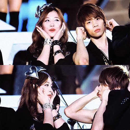 Loạt ảnh hiếm hoi của Sulli và Jonghyun đứng cùng nhau trên sân khấu khiến người hâm mộ bật khóc - Ảnh 3.