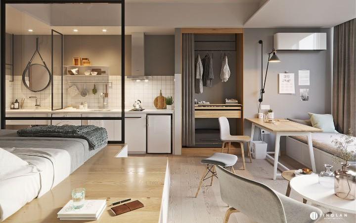 Nếu đang sở hữu 1 căn hộ 20m², bạn sẽ thiết kế như nào và dưới đây là ý tưởng dành cho bạn