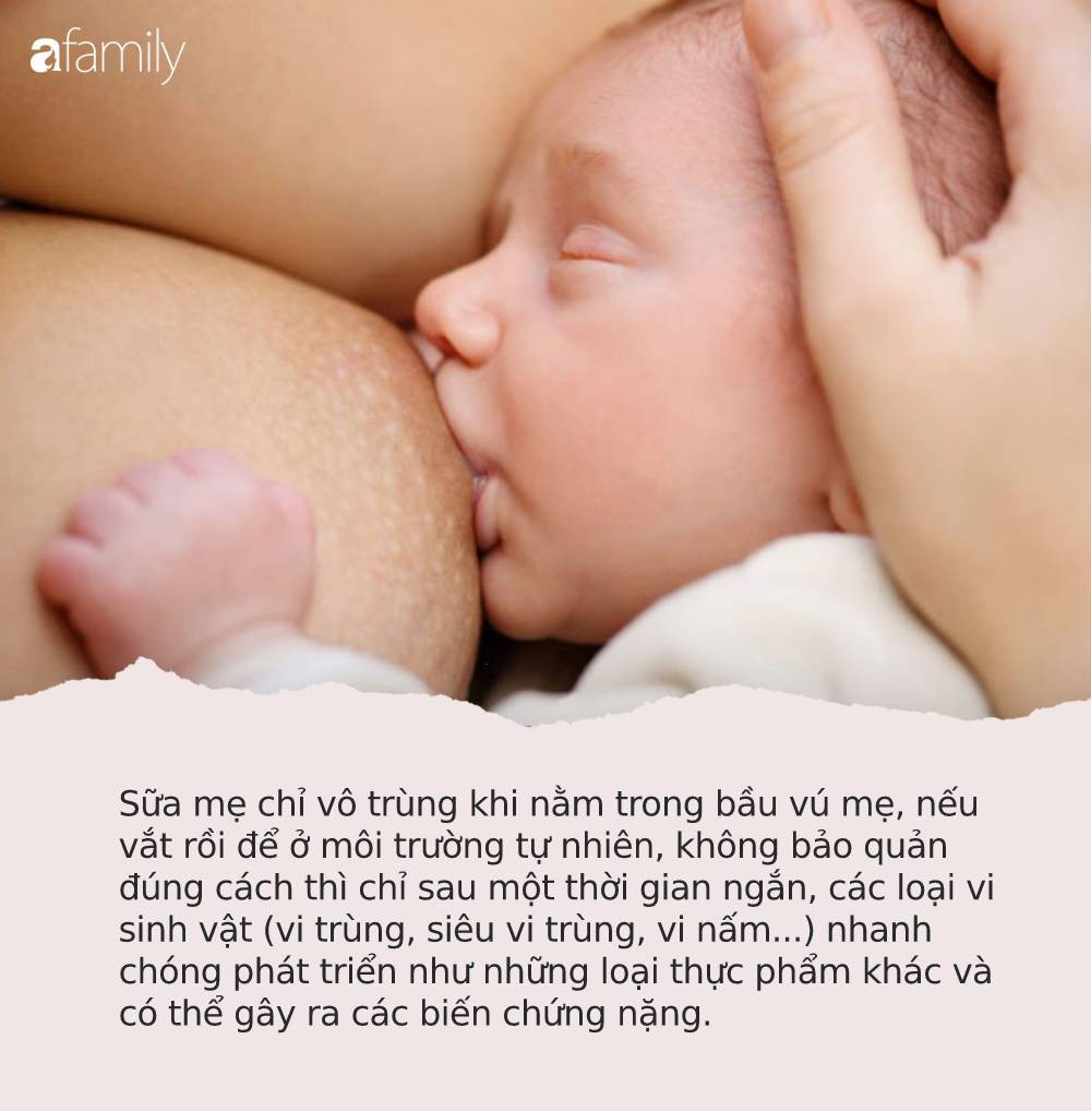 Sữa mẹ có thật sự chữa bệnh thần thánh như lời đồn? Nghe sự thật của bác sĩ nhiều mẹ sẽ phải giật mình - Ảnh 2.