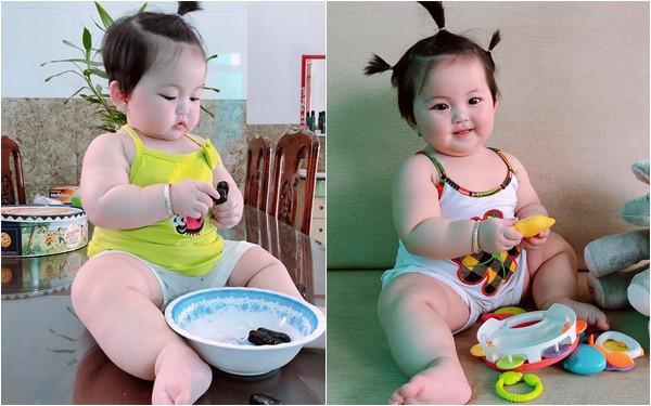 """Thiết lập lịch sinh hoạt """"đều như vắt chanh"""" nên mẹ nuôi con nhàn tênh, bé 7 tháng đã nặng 12kg"""