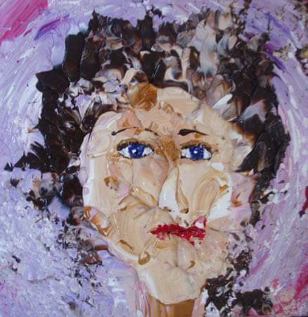 Kim Noble: Nữ họa sĩ có hơn 100 bản ngã và những tác phẩm nghệ thuật ẩn dụ đầy bí ẩn về quá khứ đau thương - Ảnh 10.
