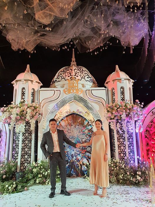 Không có lễ cưới với cơ trường Hà Duy, Âu Hà My được bù lại bằng một đám cưới xa hoa như vườn cổ tích, đón dâu bằng Roll Royce siêu sang - Ảnh 5.