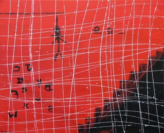 Kim Noble: Nữ họa sĩ có hơn 100 bản ngã và những tác phẩm nghệ thuật ẩn dụ đầy bí ẩn về quá khứ đau thương - Ảnh 9.