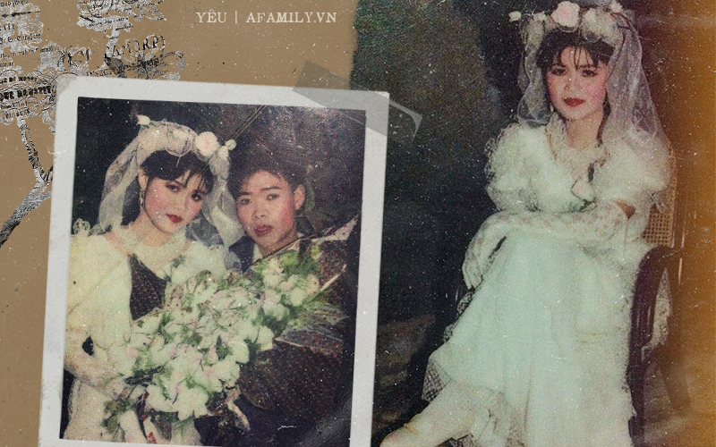 """Nhờ một lần """"làm liều"""", thanh niên nhút nhát đã """"tán đổ"""" được cô gái xinh nổi tiếng và tấm ảnh cưới 26 năm trước hé lộ điều bất ngờ"""