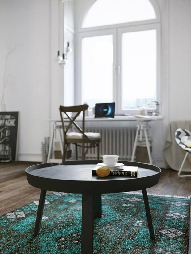 Sử dụng màu vàng táo bạo cho căn hộ chuẩn phong cách Scandinavia tạo bất ngờ lớn - Ảnh 14.